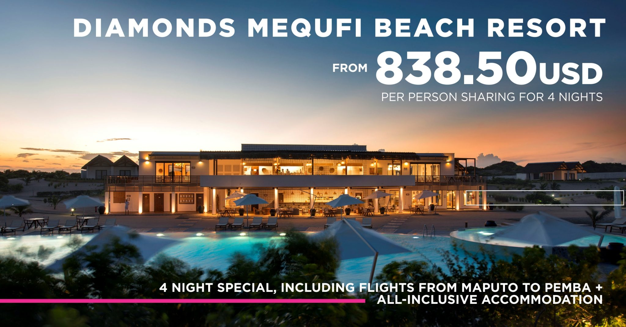Dana Tours Diamonds Mequfi Beach Resort 4 night special