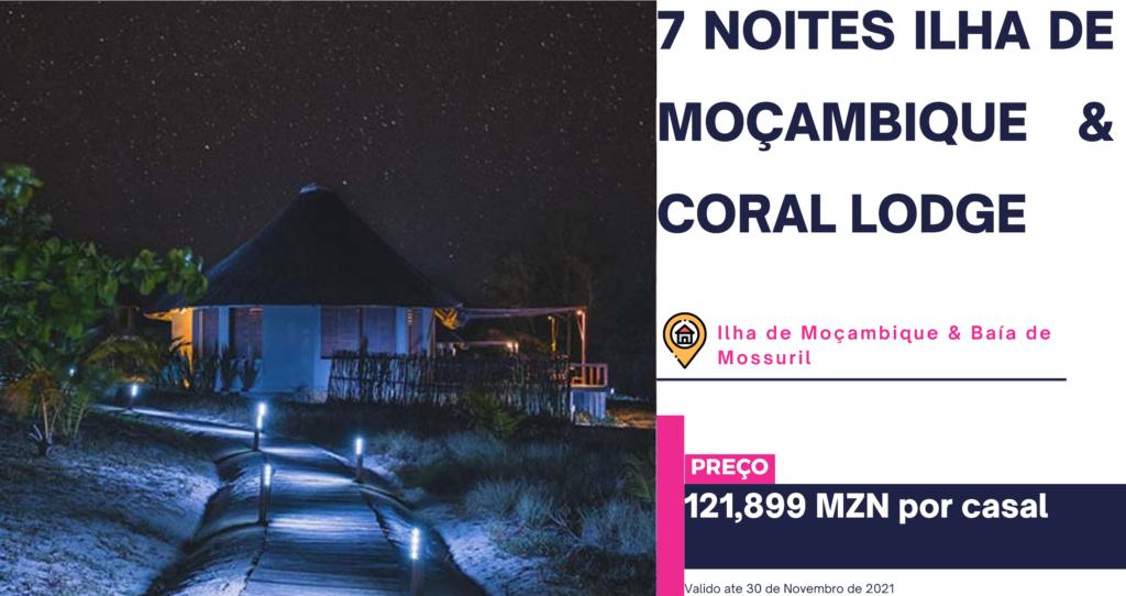 7 noites Ilha de Mocambique Coral Lodge 1