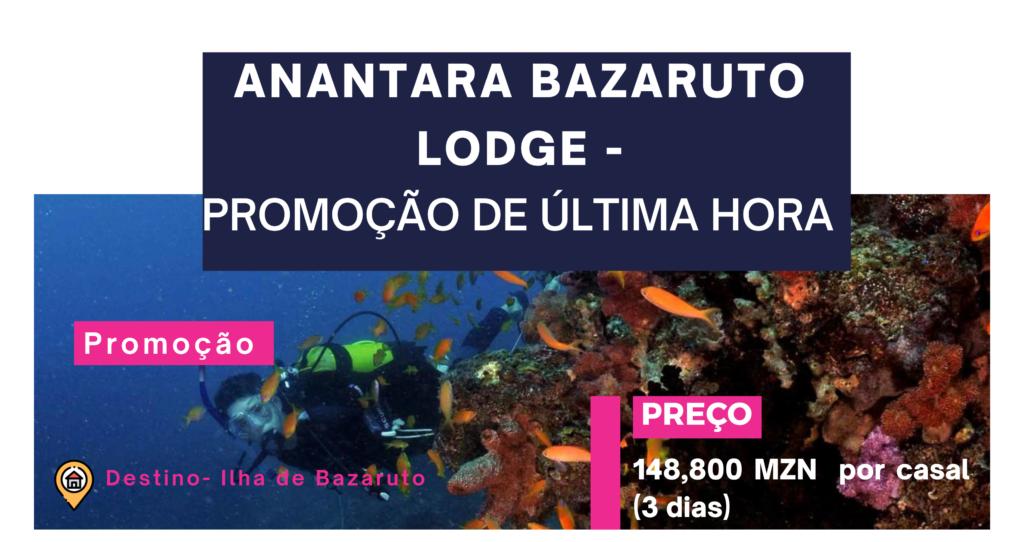 Anantara Bazaruto Lodge – Promocao de ultima hora tempo limitado 1